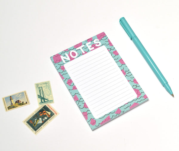 Abstract Notes Notepad