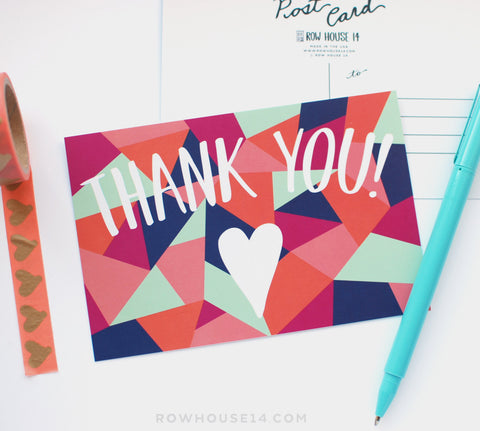 Thank You Postcards