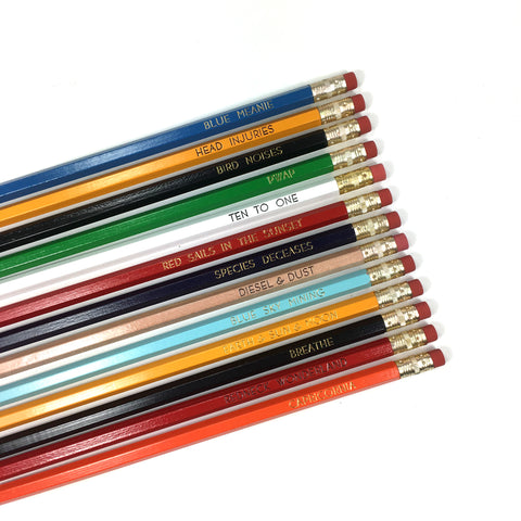 Midnight Oil Albums Pencil Set | Pre-Order