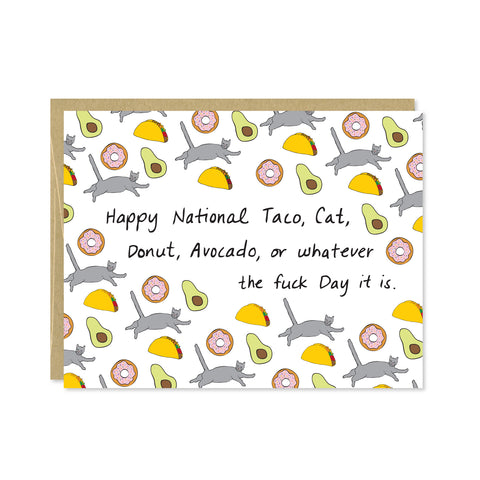 National Whatever Day Card