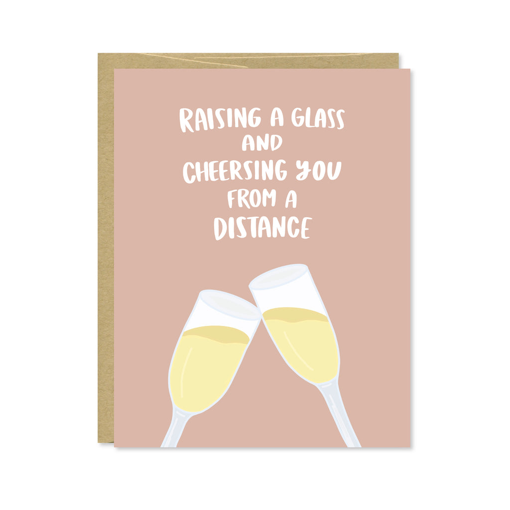 Raising a Glass Card