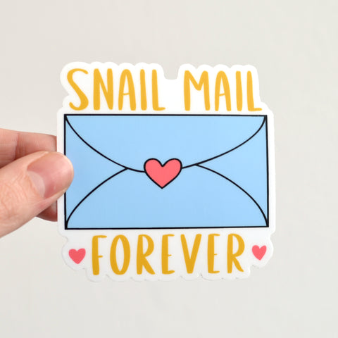 Snail Mail Forever Sticker