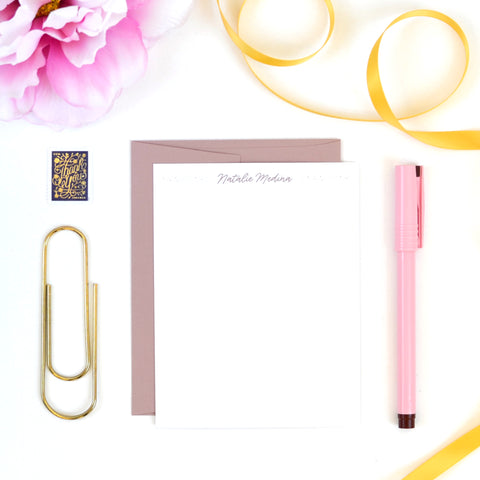 Stardust Stationery Set
