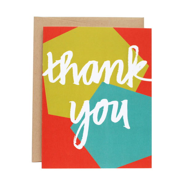 Geometric Thank You Boxed Set