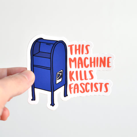 USPS Fascists Sticker