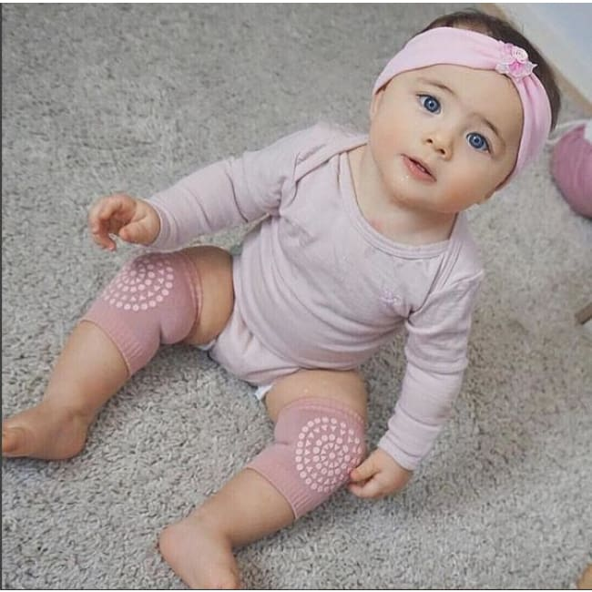 100% Cotton Knee Protectant For Your Crawling Baby - Knee Pads