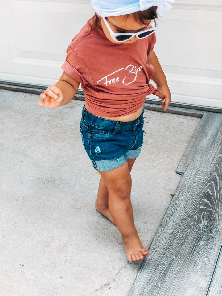 Handmade Distressed denim Shorts