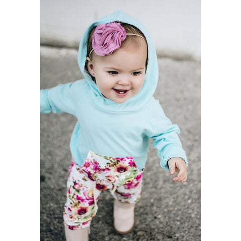 Fierce Leopard Girl Hooded Jogger set