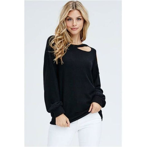 Adrian Lace Bodysuit  Flare long Sleeve