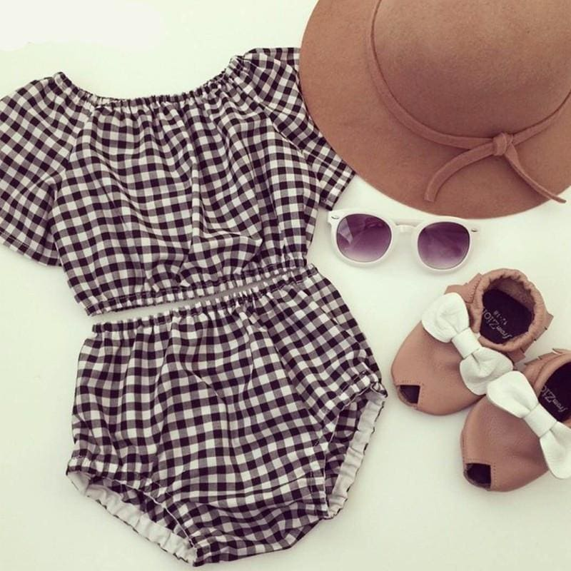 Darling Plaid 2 Pc Set