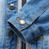 !denim Hooded Jean Jackets