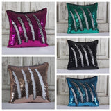 Double Color Sequin Pillow Cases