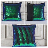 Double Color Sequin Pillow Cases - Mermaid