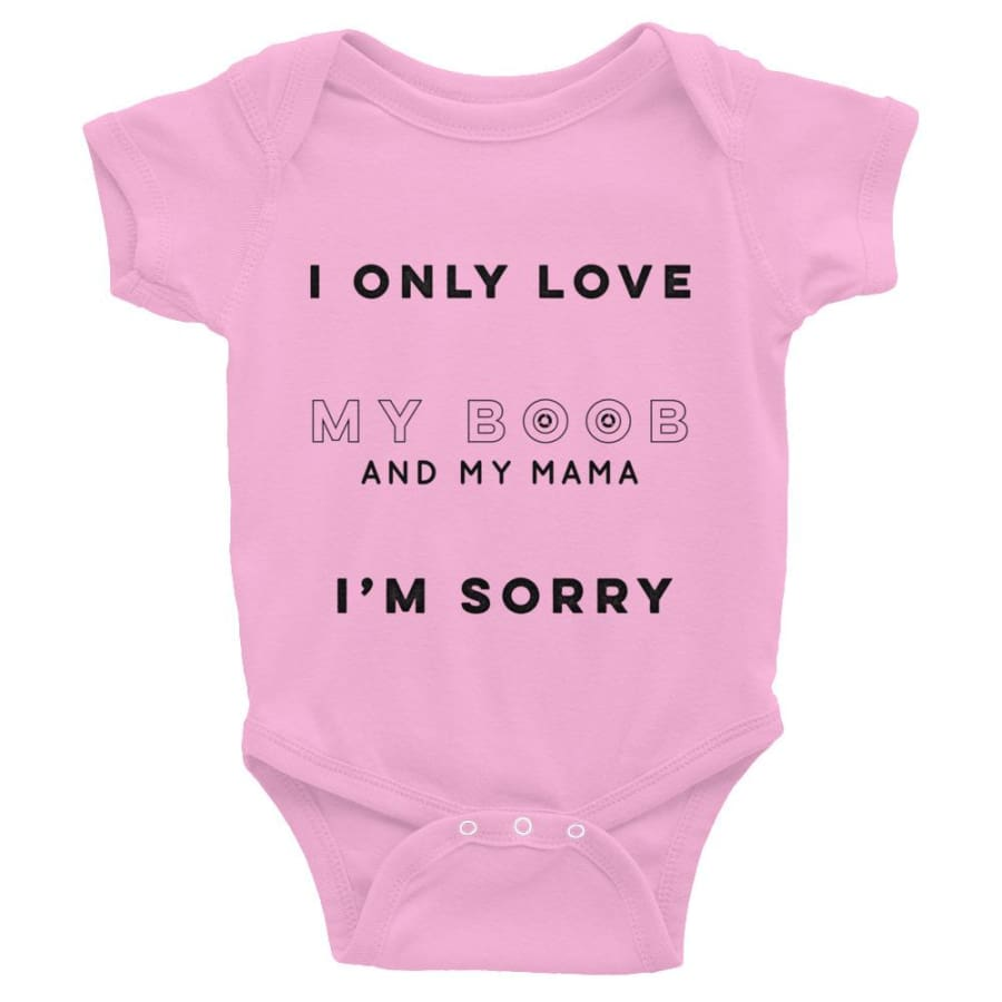 Drake Only Love My Mama Im Sorry - Pink / 6M