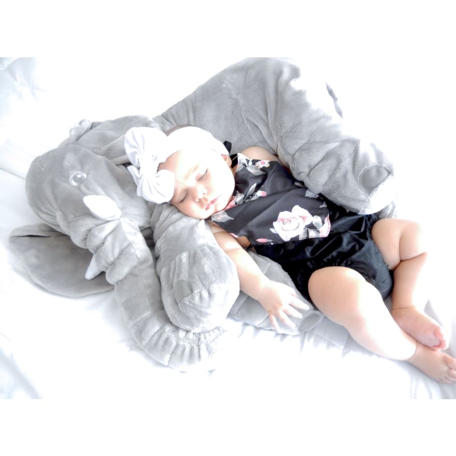 Elephant Pillows Multiple Colors - Grey ( Large 60Cm) - Pillow