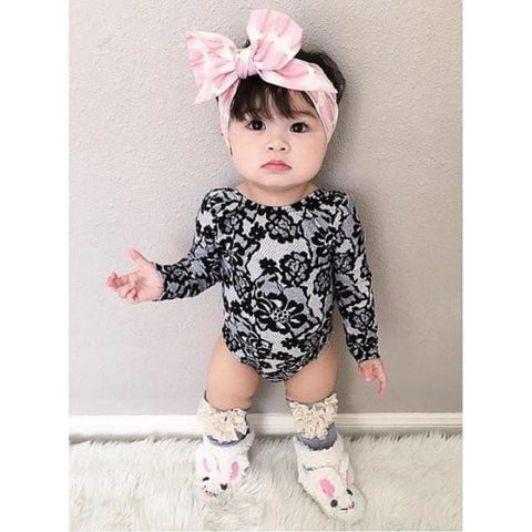 Little Black Bubble Romper