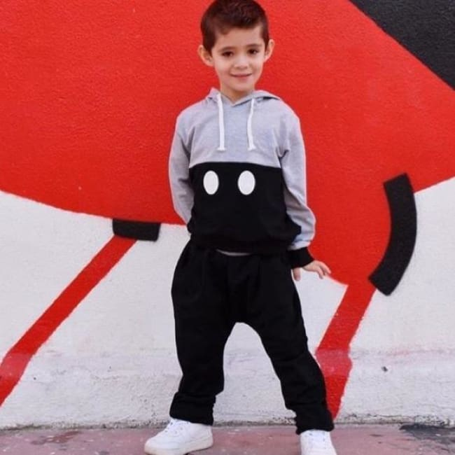 Minimalist Mickey Jogger 2 Pc Suit