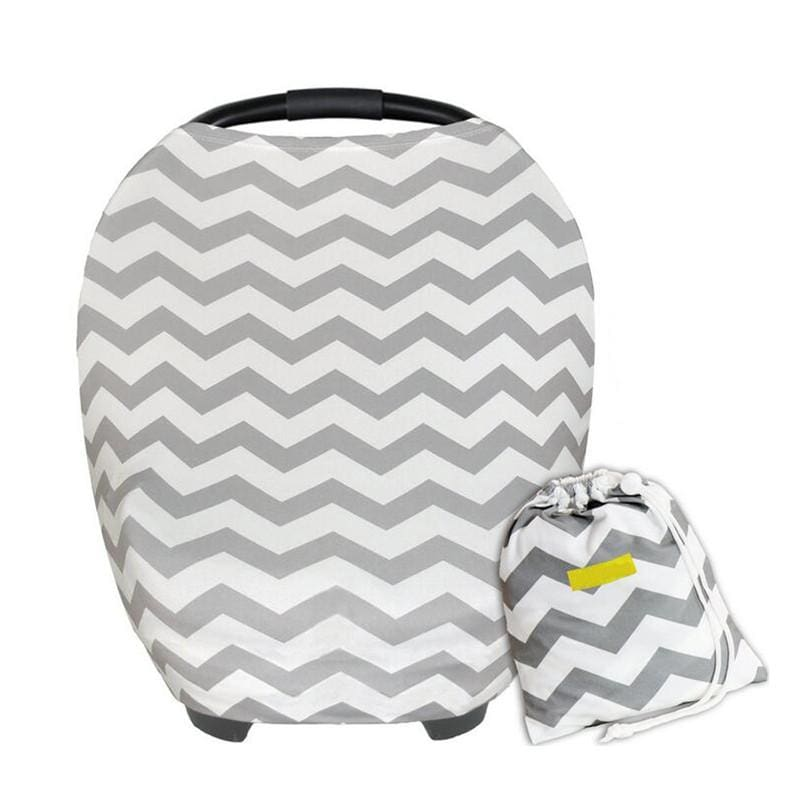 Multi Use Cover Canopy And Nursing 3 In 1 Gift - 09