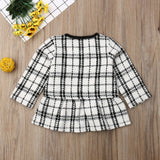 Cher Plaid Set