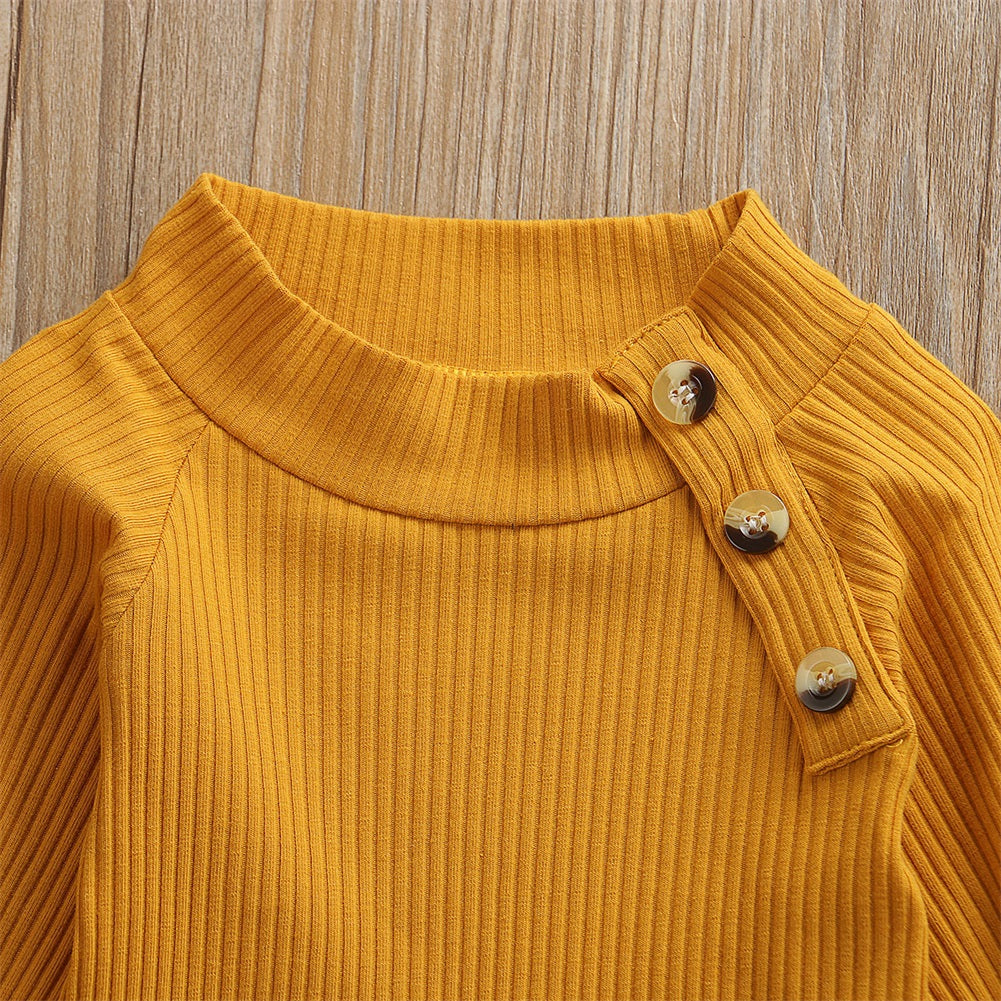 Faye Button Sweater set