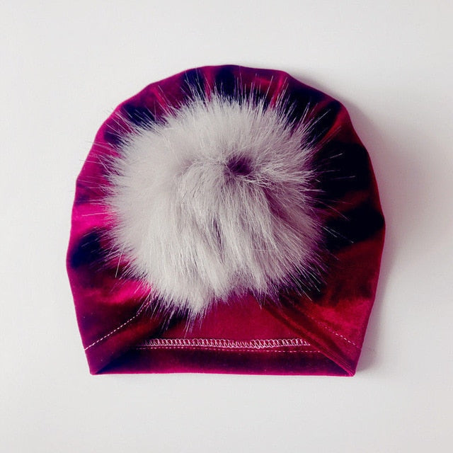 Puff Turbans in velvet