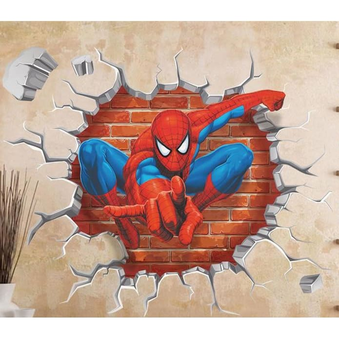 Spiderman Kids Room Decor Wall Art - Wall Art