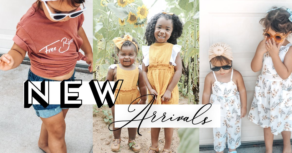 Summer kids new arrivals