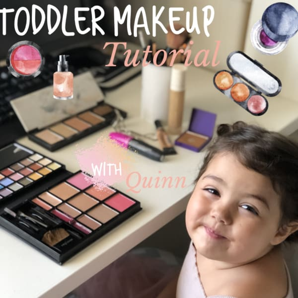 make up tutorial youtube kids toddler baby video how to