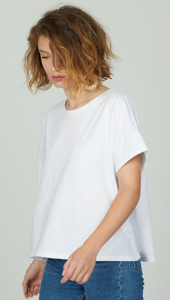 Timeless t.shirt stone white