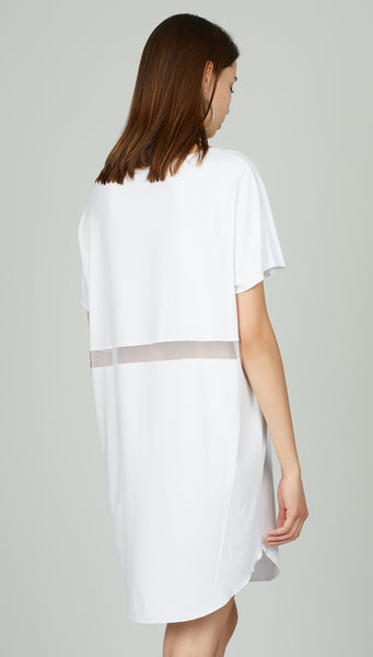 Boxy t.shirt dress