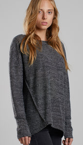 Oversized wool blend jumper