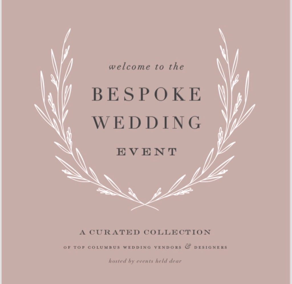 The Bespoke Wedding Event