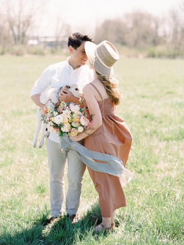 Silk Ribbon by The Lesser Bear Photo by Jenny Haas Styling/Planning Auburn + Ivory Florals Old Slate Farm