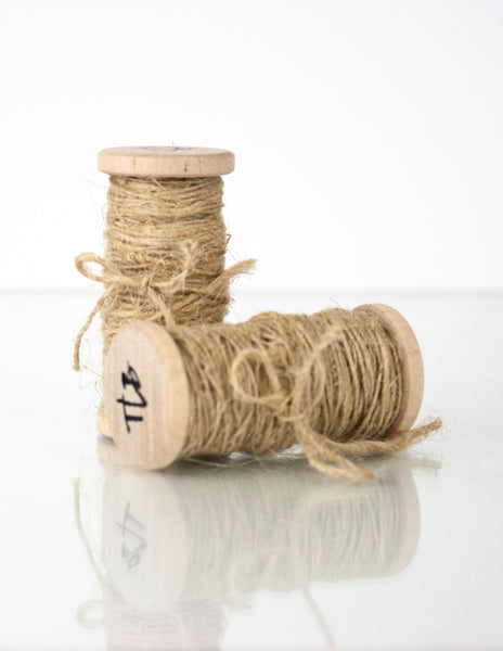 Flax Twine, Hand Spun from The Lesser Bear