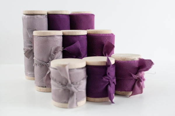 Gifting Ribbon Bundle - Purples - The Lesser Bear