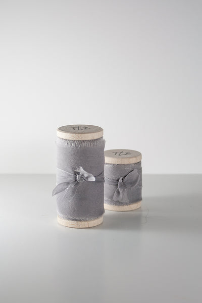 Silver Lake Silk Gauze Ribbon from The Lesser Bear