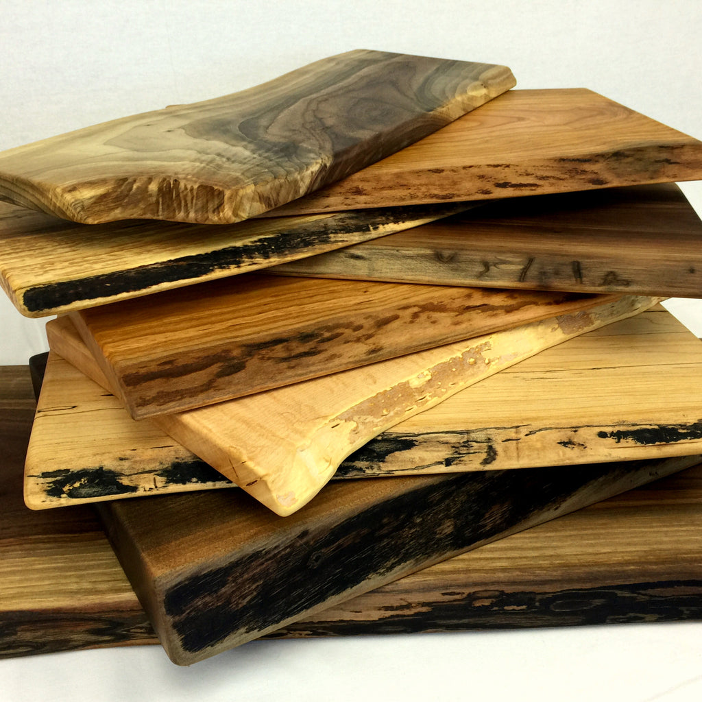 Live Edge - Cutting and Serving Boards
