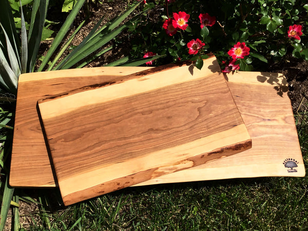 Live Edge Cherry Cutting Board