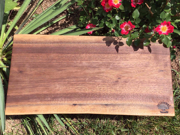 Walnut Live Edge Serving Platters and Cheese Boards