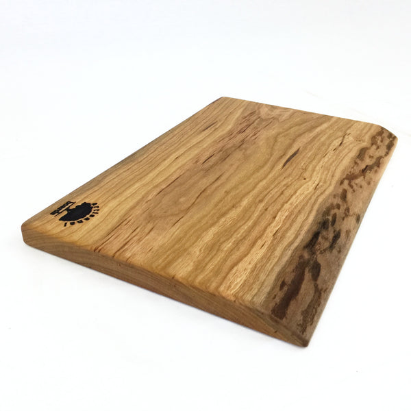 Live Edge Cutting Board and Cheese Board Made of Cherry