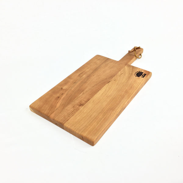 Oak Cutting Board with Handle
