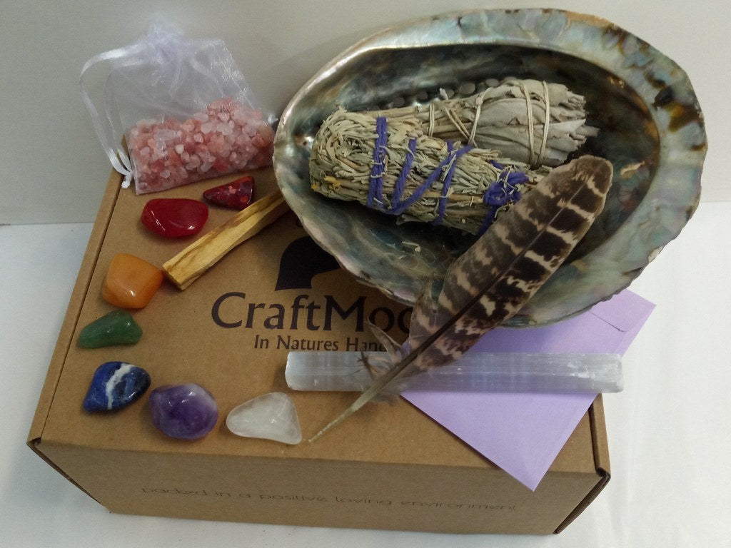 Complete Smudge Crystal Cleaning Kit