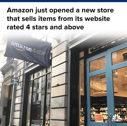 Amazon just opened a new store that sells items rated 4 stars and above from its website. Here's what it looks like inside