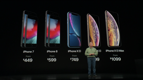apple iphone xs launch event