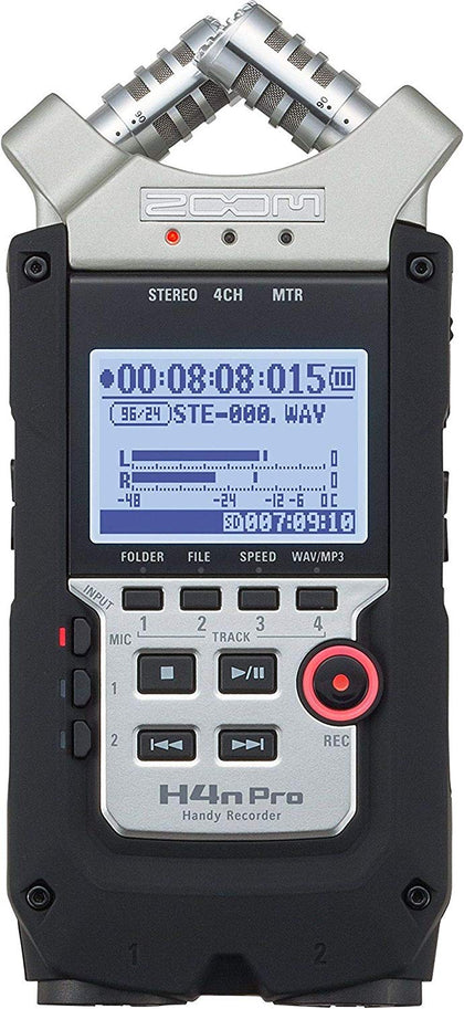 Zoom H4n PRO Handy Recorder-Let's Talk Deals!