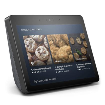 Amazon Echo Show 2nd Generation - Charcoal-Let's Talk Deals!