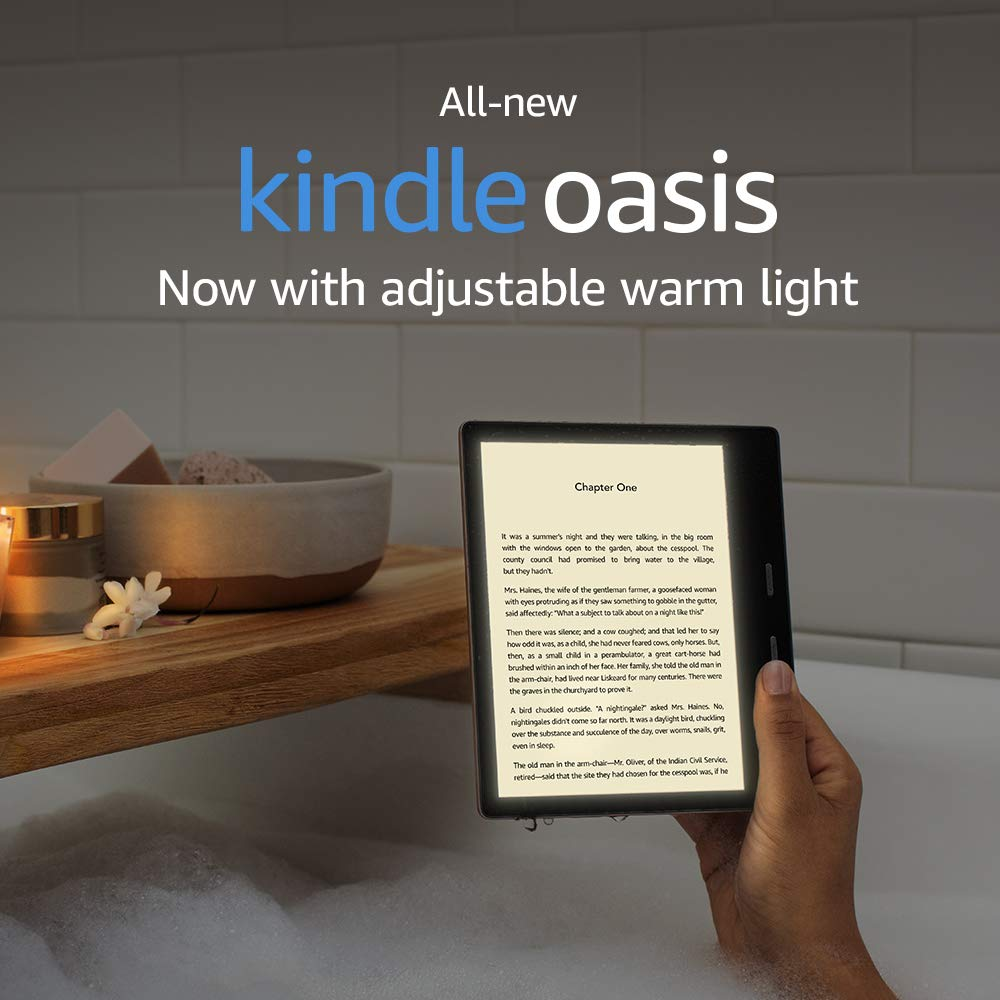 "Amazon-New Kindle Oasis 7"" Display, 32 GB, WiFi"