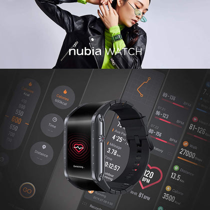 Nubia Curved OLED Screen Smart Watch