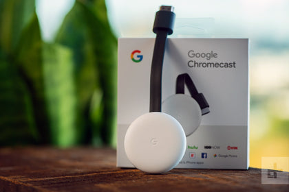 Google Chromecast 3 (Chalk)-Let's Talk Deals!