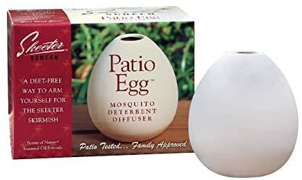 Skeeter Screen Patio Egg Mosquito Deterrent Diffuser - Bendixen's Giftware